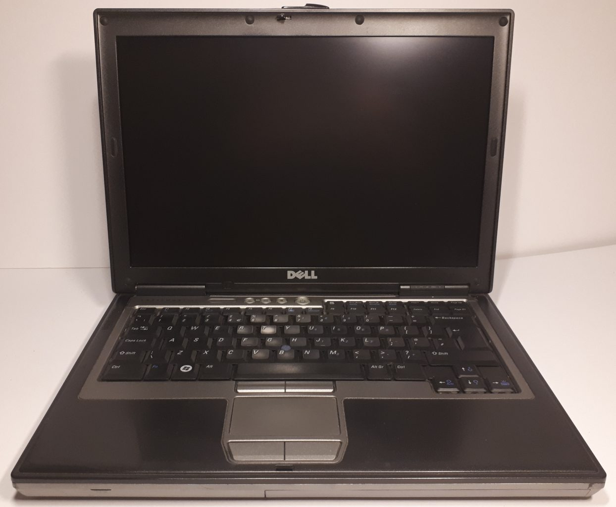 Dell D630 open front