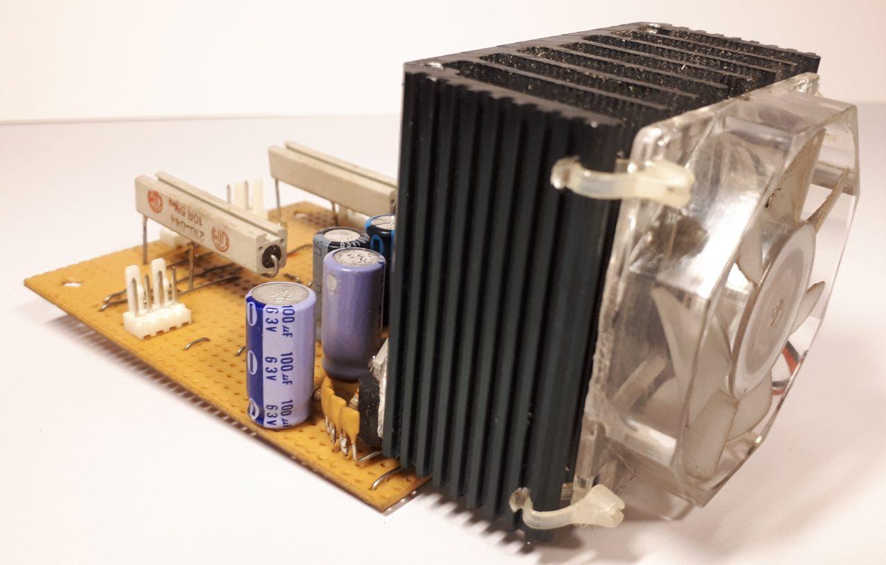 Jukebox amplifier cooling