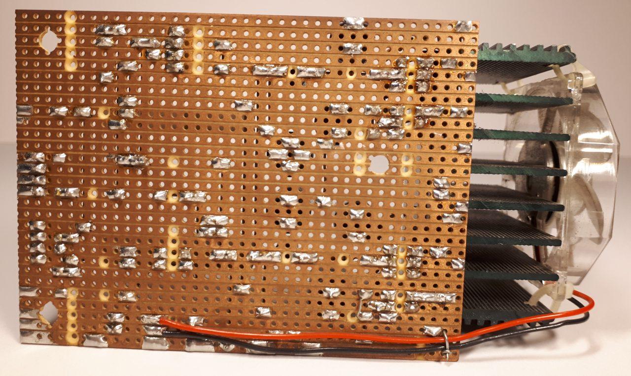 Jukebox amplifier solder side