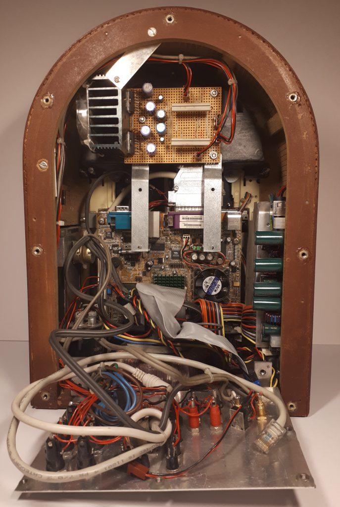 Jukebox rear inside