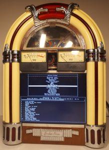 Homemade jukebox