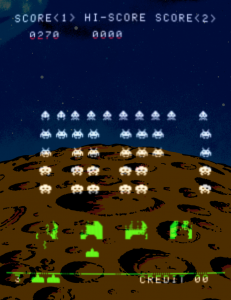 Taito Space Invaders arcade machine