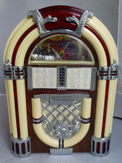 The donor jukebox radio cassette player