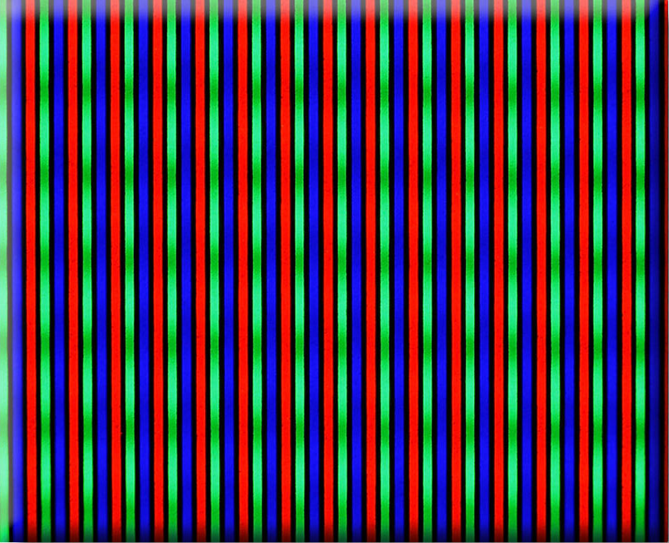 CRT aperture grille