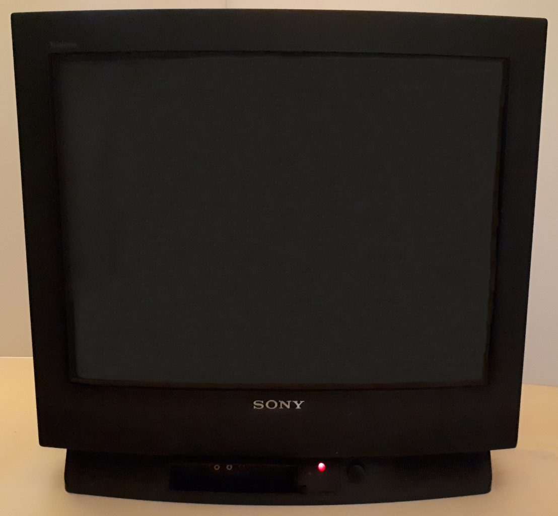Sony KV-25F1U CRT television