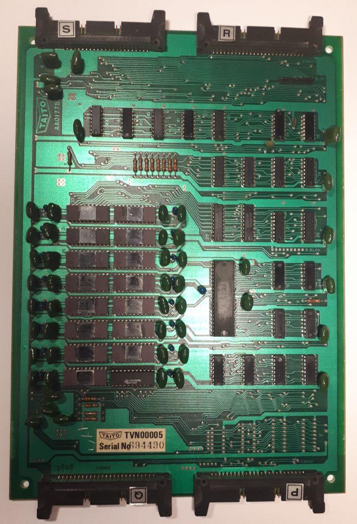 Space Invaders CPU PCB
