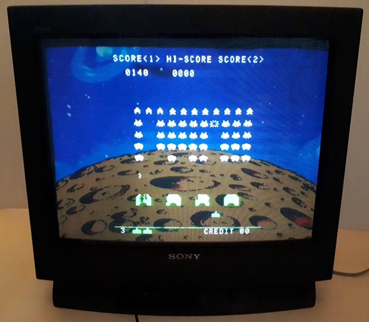 Space Invaders CRT