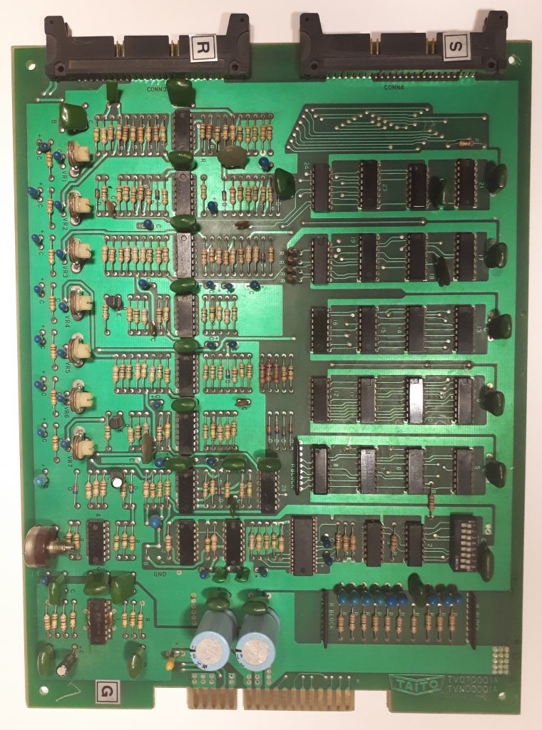 Space Invaders sound PCB